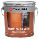фото: Tikkurila Valtti Color Satin (Тиккурила Валтти Колор Сатин) — Антисептик для наружных работ,полуматовый.