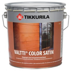 фото: Tikkurila Valtti Color Satin (Тиккурила Валтти Колор Сатин) — Фасадная лазурь для дерева.